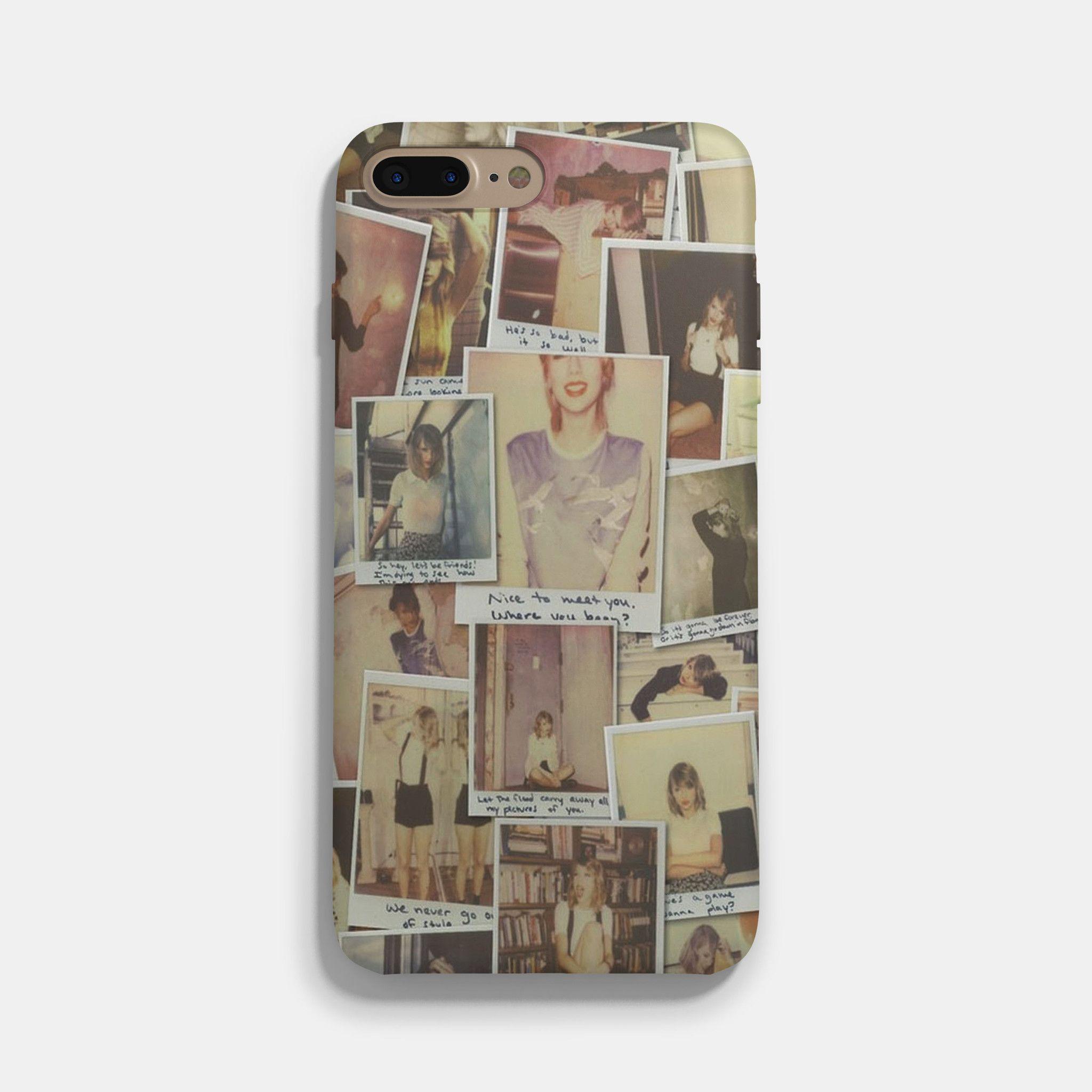 polaroid iphone 7 case