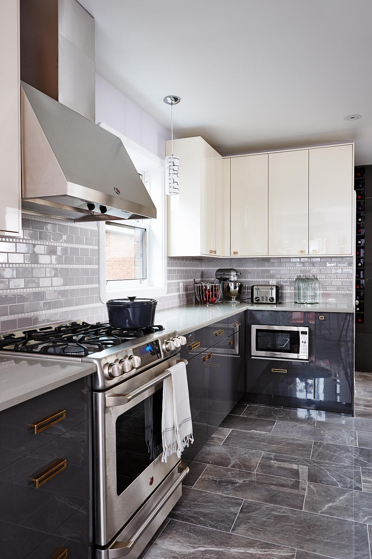 gray kitchen design idea 72 Many styles