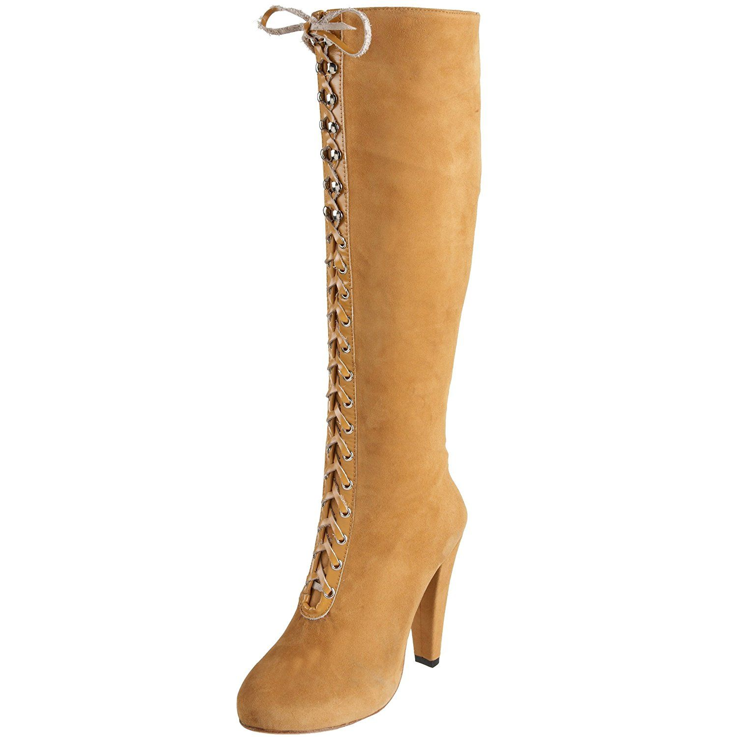 Madison Harding Women's Siouxsie Lace Up Knee Boot ** Special boots just for you. See it now! : Women's boots