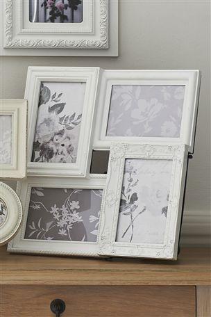 Buy White Ornate Desk Collage Frame from the Next UK online shop ...