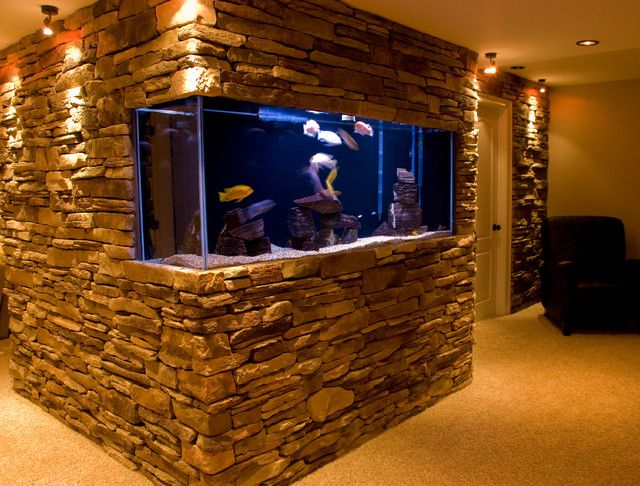 20 Of The Coolest Wall Fish Tank Designs Fish Tank Design Fish Tank Wall Wall Aquarium