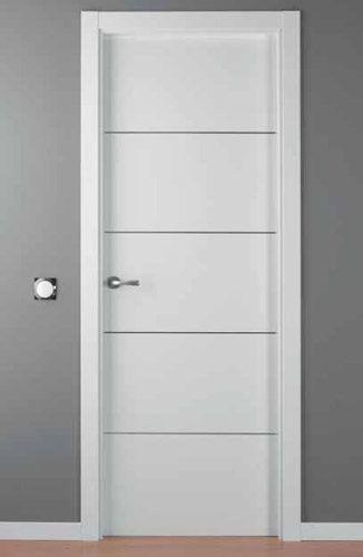 Puerta lacada blanca mod lac alho 4 puertas portones i - Precios de puertas lacadas en blanco ...