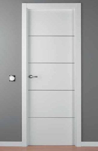 Puerta lacada blanca mod lac alho 4 portes pinterest for Puertas blancas economicas