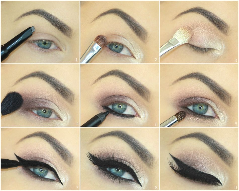 Step by step look by Nikkia Joy using EOH products http