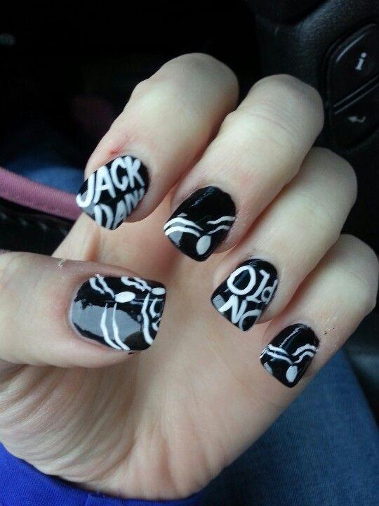 Jack Daniels nails   :) Trucks   Pinterest   Jack daniels, Nail nail ...