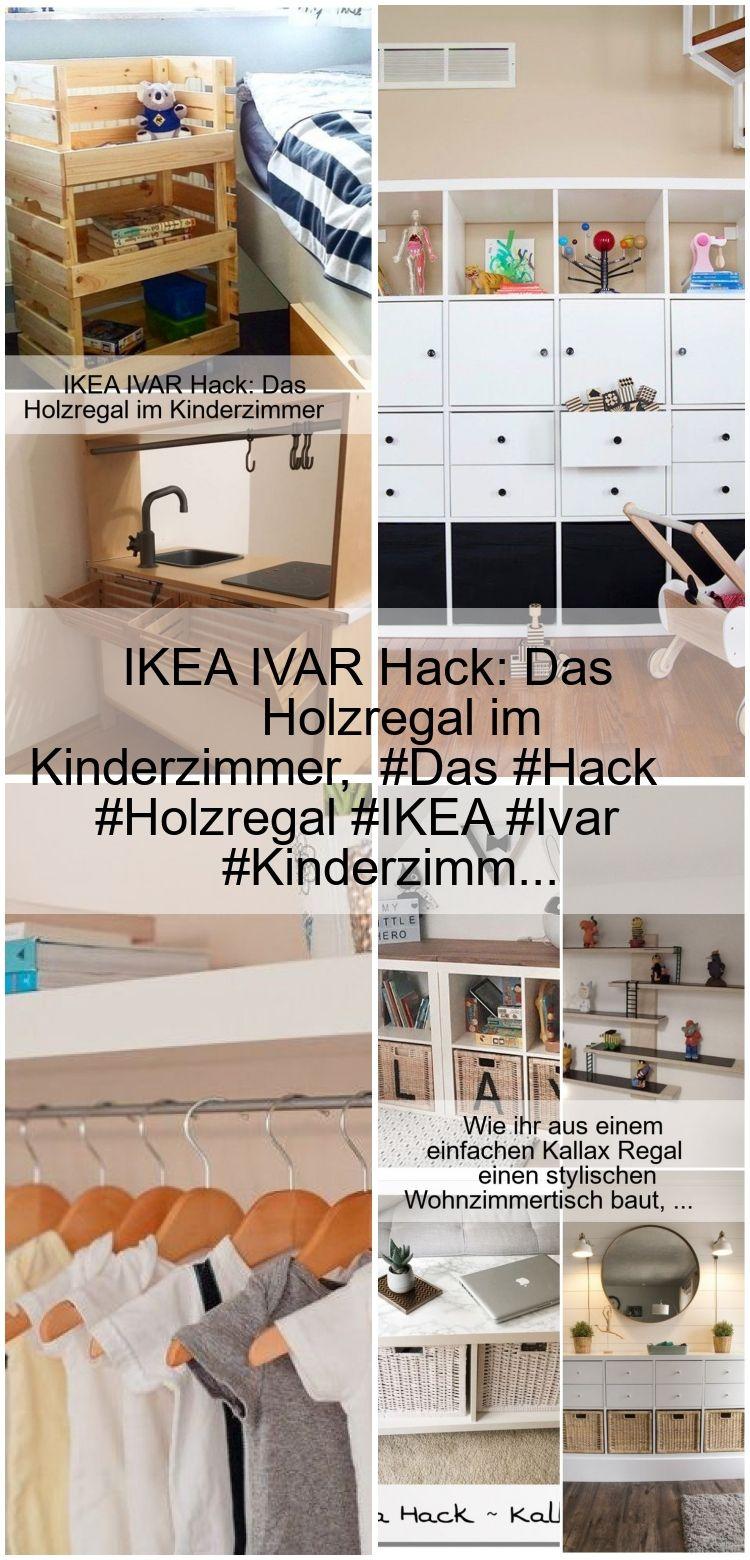 IKEA IVAR Hack Das Holzregal im Kinderzimmer, Das Hack