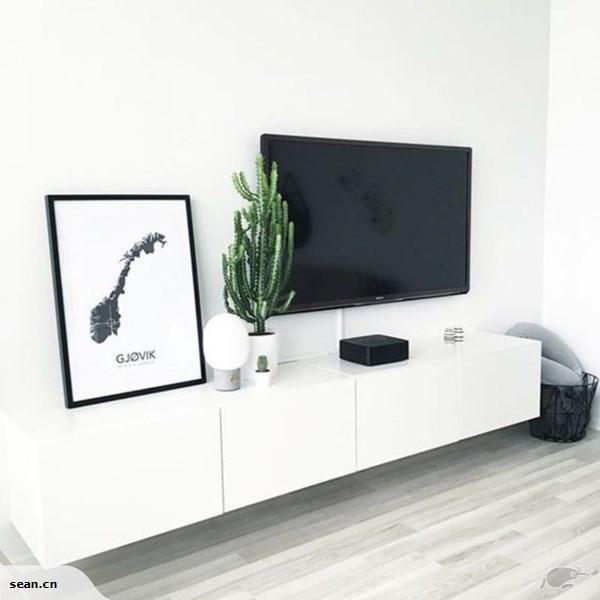 IKEA – BESTA Wall mounted TV unit with door