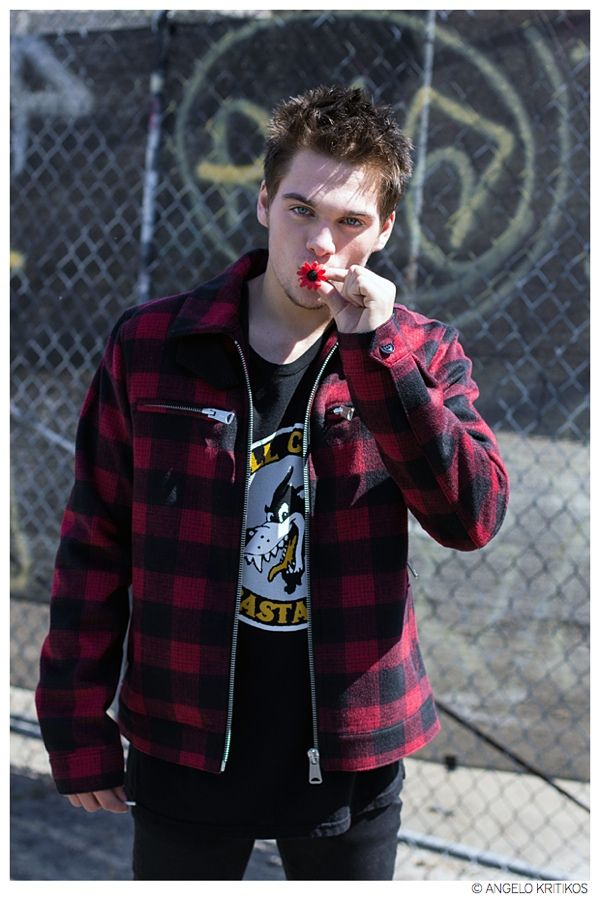 Teen Wolf Star Dylan Sprayberry Poses for Punk Inspired Photos by Angelo Kritikos
