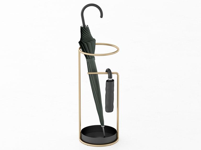 Floorstanding Metal Umbrella Stand Minimum By Calligaris Design