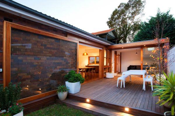 Terrasse en bois ou composite - idées merveilleuses pour lu0027extérieur