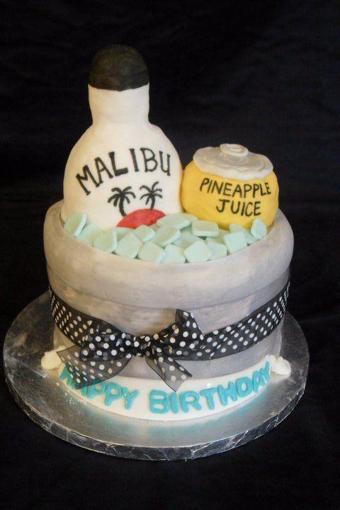 We Love This Cake Malibu Fan Creations Pinterest Cake Bakery