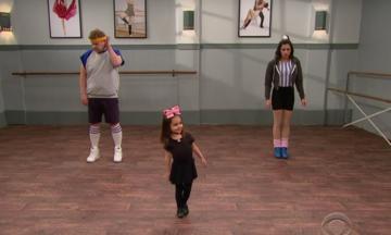 James Corden And Jenna Dewan Tatum Take A Class In 'Toddlerogrophy'