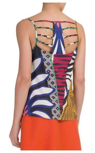 Regata linho african Camiseta Regata Feminina c43f671e9dd