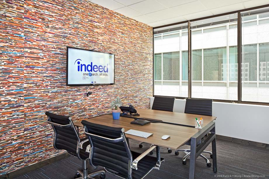 Indeed Office Austin Texas By Edgequarters Office Design