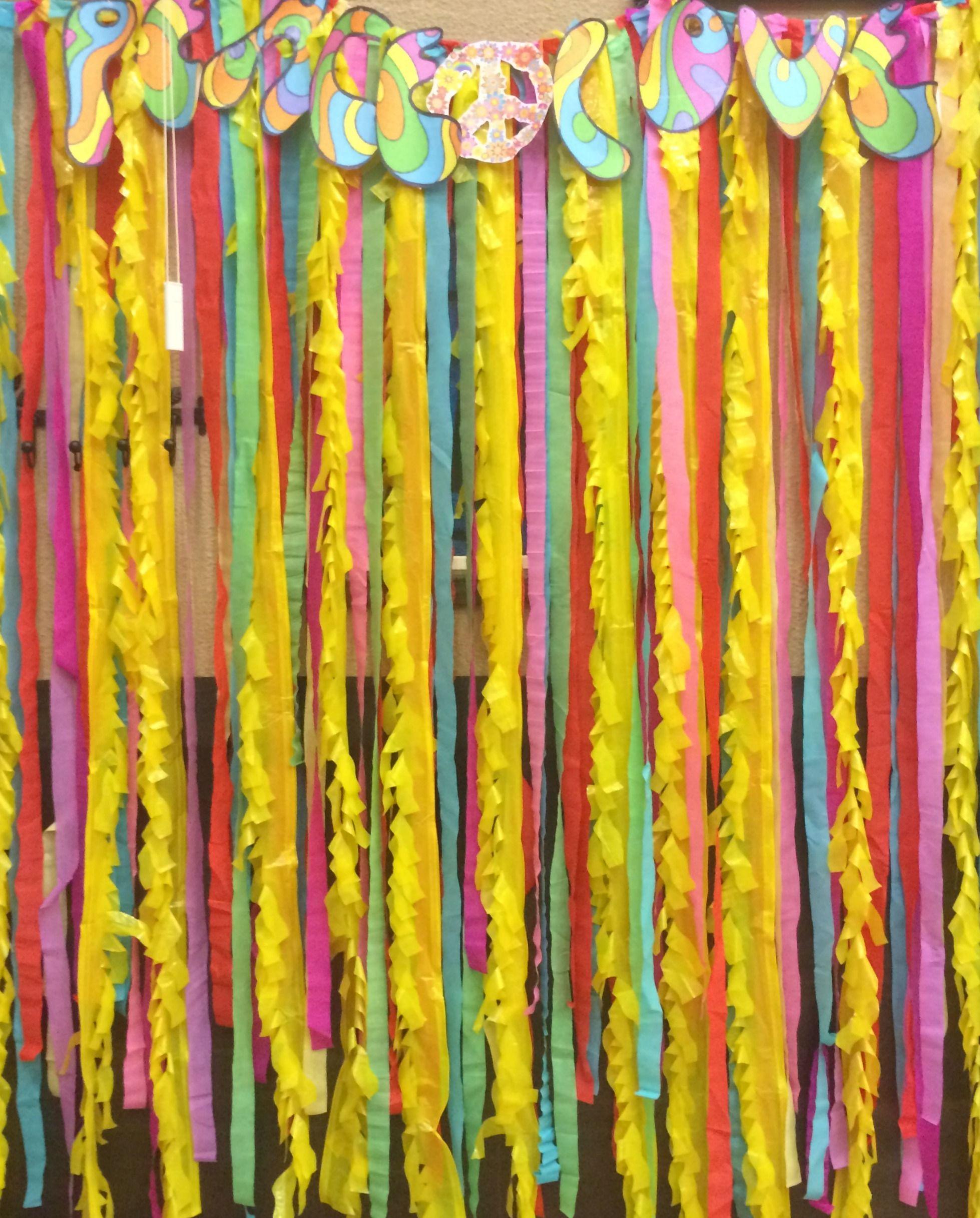 decoracion fiesta hippie buscar con google fiesta