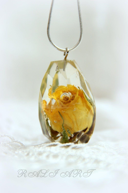 Resin real flower resin pendant pendant rose pendant resin resin real flower resin pendant pendant rose pendant resin yellow rose resin mozeypictures Images