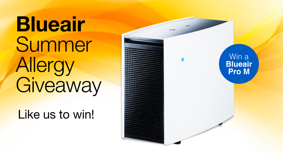 Blueair Summer Allergy Giveaway US/Can Summer allergies