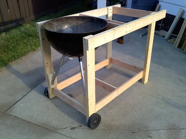 home brew weber performer the bbq brethren forums projects pinterest grill table bbq. Black Bedroom Furniture Sets. Home Design Ideas
