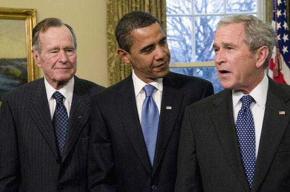Bush, Obama and Bush