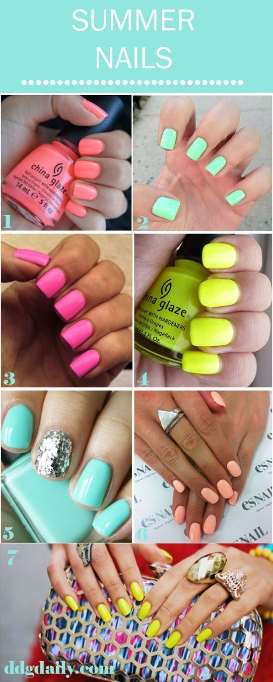 Make A Statement: 5 ways to jazz up your digits | Summer, Salons and ...