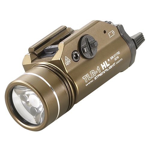 TLR-1 HL with lithium batteries, FDE-B