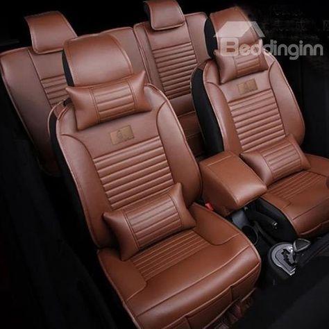 Elegant Design Clic Leather Colors Simple Universal Car Seat ...