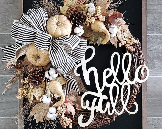 Photo of Everyday wreath / grapevine wreath / peony wreath / beautiful everyday wreath / spring wreath