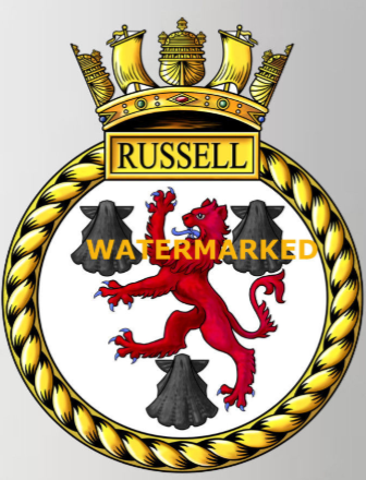HMS Russell F97 | British Modern Warships | Navy ships, Royal navy