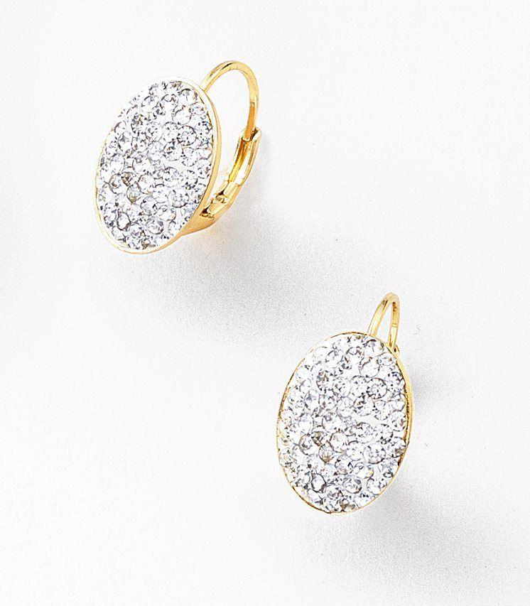 0cdda2b06e5b NICE Regalos hermosos - Joyería con 4 baños en oro de 18 kilates y piedras  de cristal.