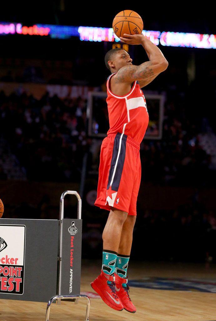 #Bradley Beal wearing #Nike Zoom #HyperRev PE