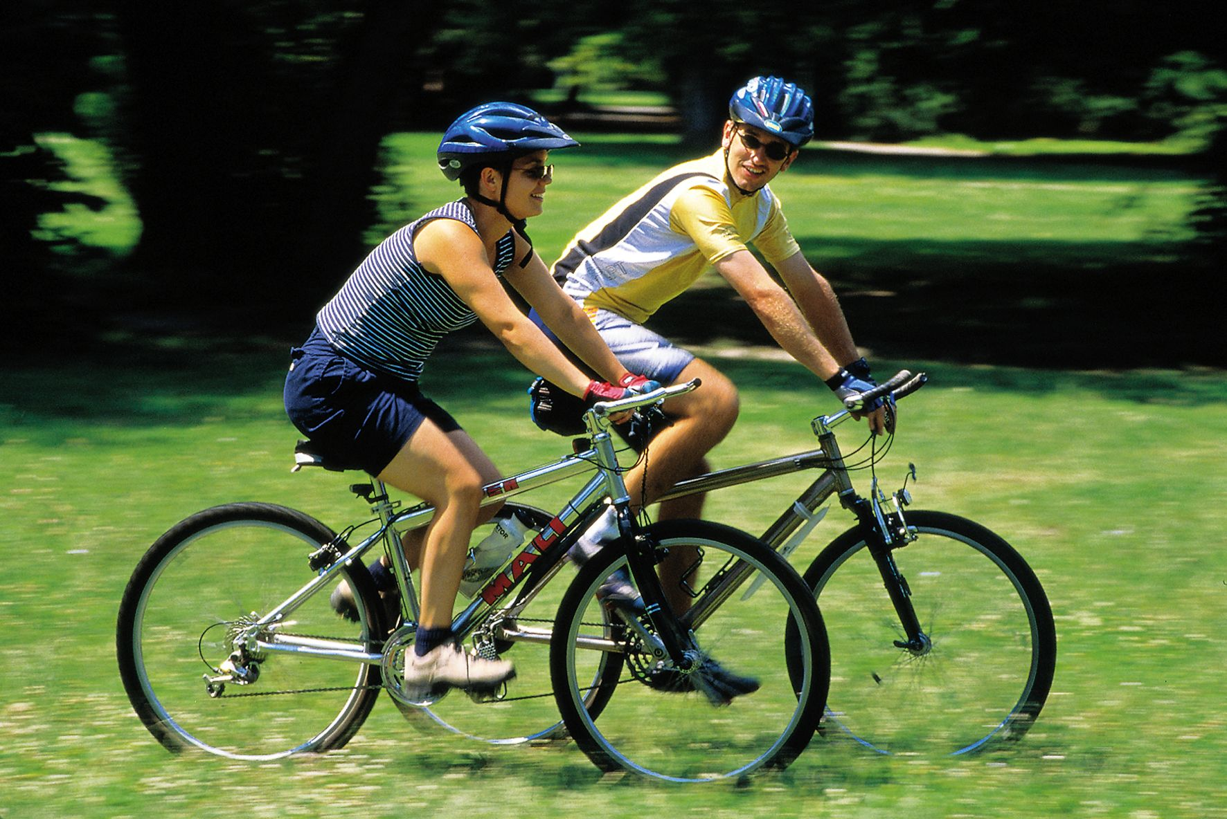 Cycling Improves General Muscle Function Gradually With Little