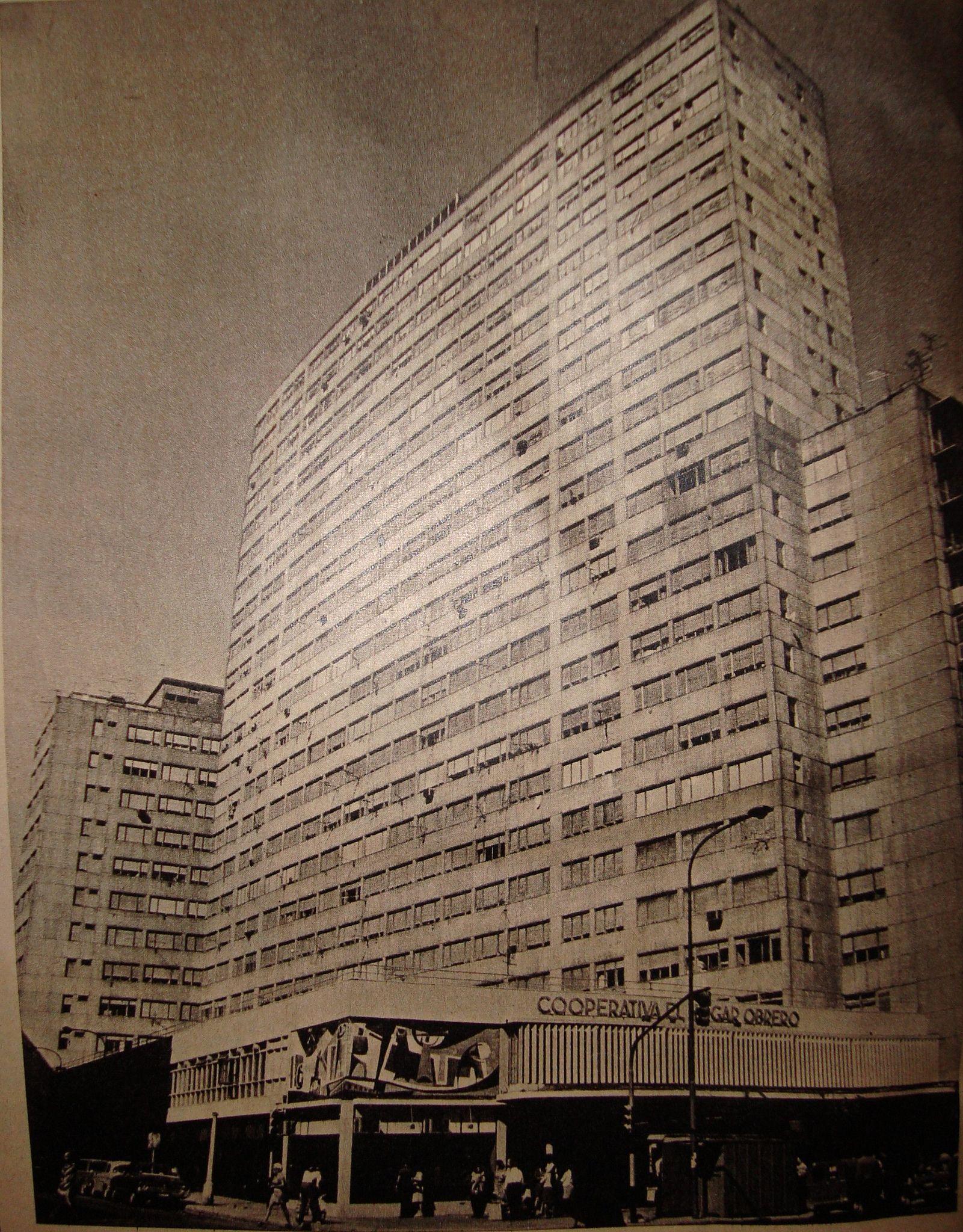 El Hogar Obrero Barrio Caballito Ano 1980 Ciudad De Buenos Aires