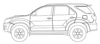 Image result for toyota fortuner 2014 3D sketch | Hack | 3d