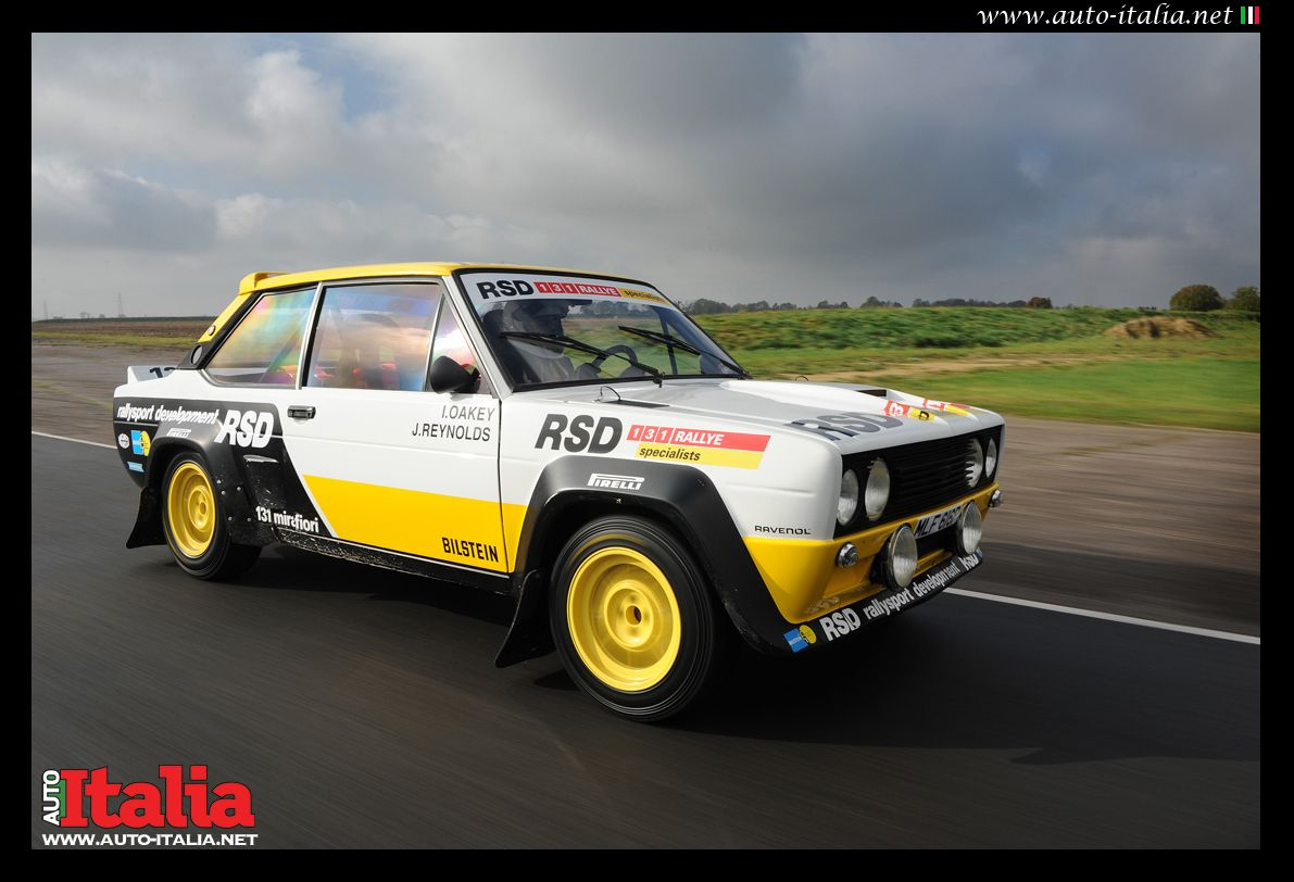 Fiat 131 Mirafiori By Rsd With Images Fiat Fiat Abarth Rally Car
