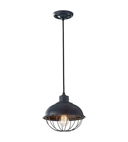Feiss P1242af Urban Renewal 1 Light 10 Inch Antique Forged