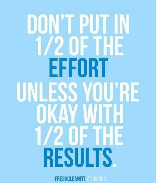 Effort Vs Result Motivation Fitness Quotes Inspirational Quotes