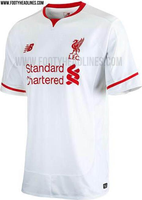 1fe40d675 New Balance Liverpool 15-16 Kits Revealed - Footy Headlines. Liverpool away  shirt for 2015 ...