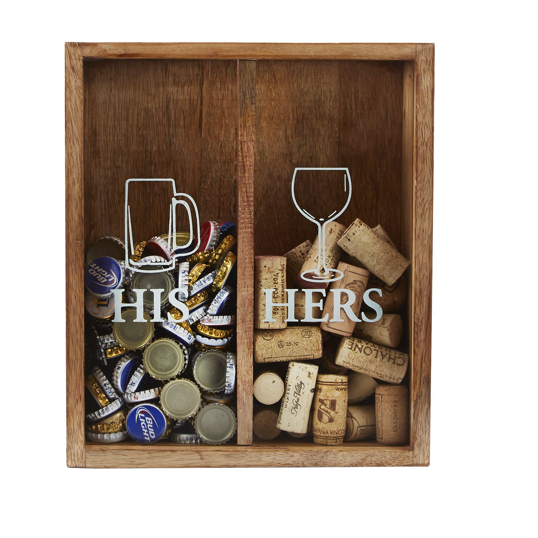 His And Hers Cork Display Box