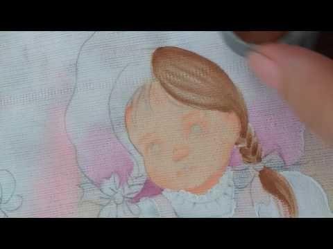 Como pintar trança de cabelo. - YouTube