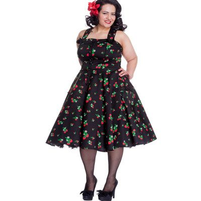 Plus Size Pin Up Dresses | isobel pin up dress in plus sizes pin up ...