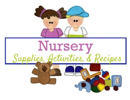 Latter Day Chatter Nursery Supplies Activities Recipes Latterdaychatter Lds