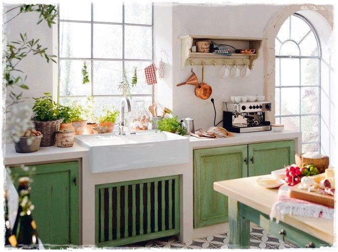 Cocinas rusticas con encanto retro vintage cocinas - Cocinas rusticas de campo ...