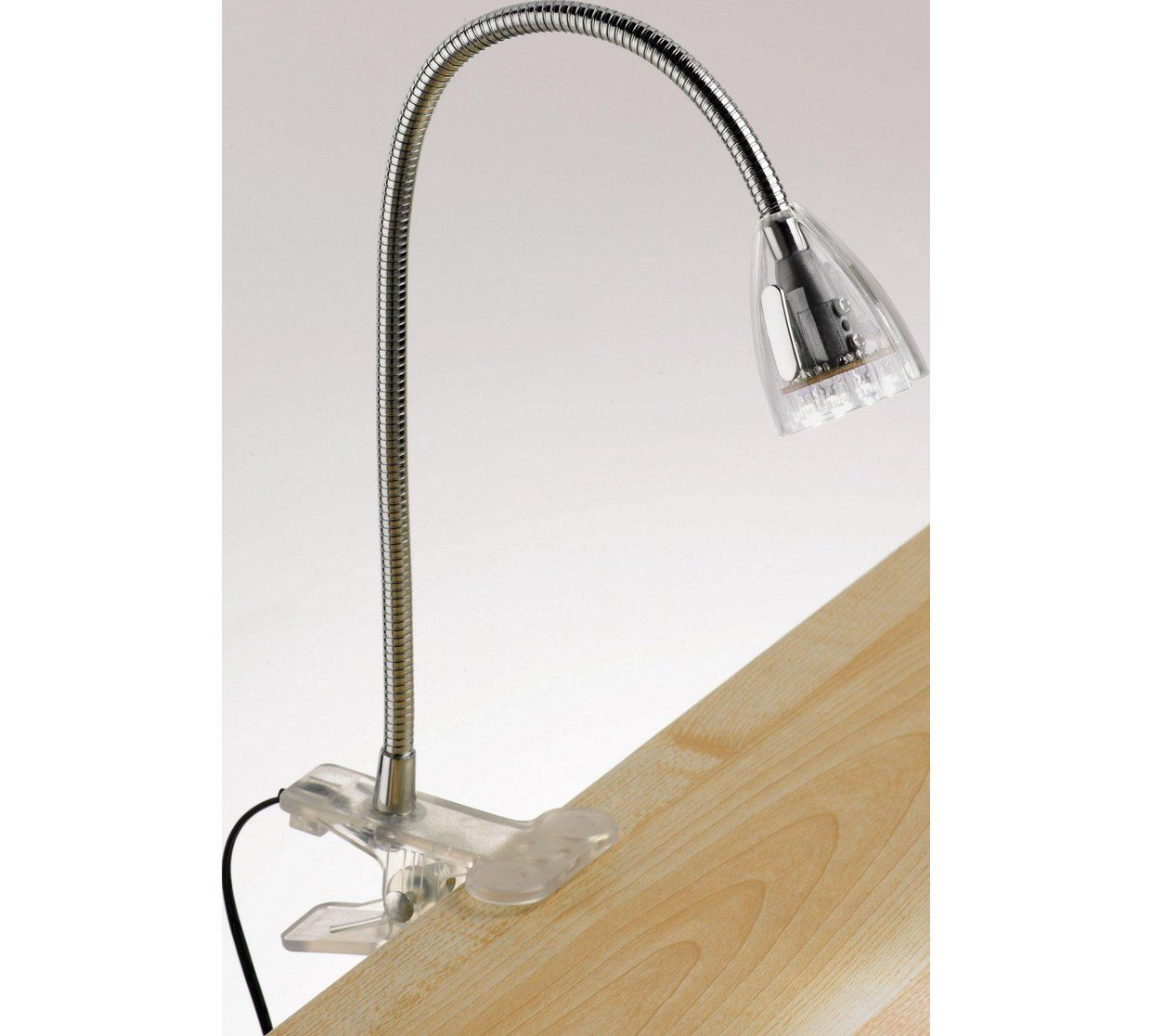 Buy Collection LED Clip Desk Lamp - Clear at Argos.co.uk - Your ...