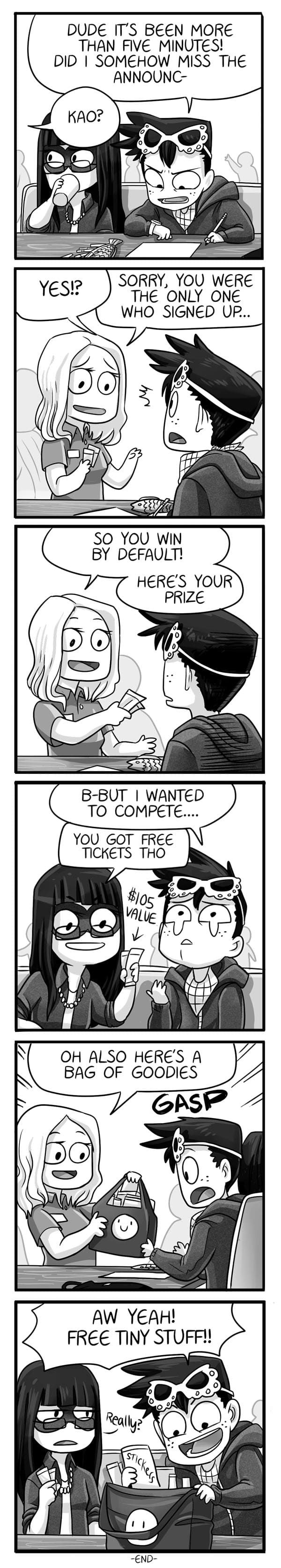 Mondo Mango :: The Competition (Part 5) | Tapastic Comics - image 1