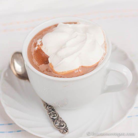 Thick Hot Chocolate Recipe Crock Pot Hot Chocolate Recipe Hot Chocolate Recipes Crockpot Hot Chocolate