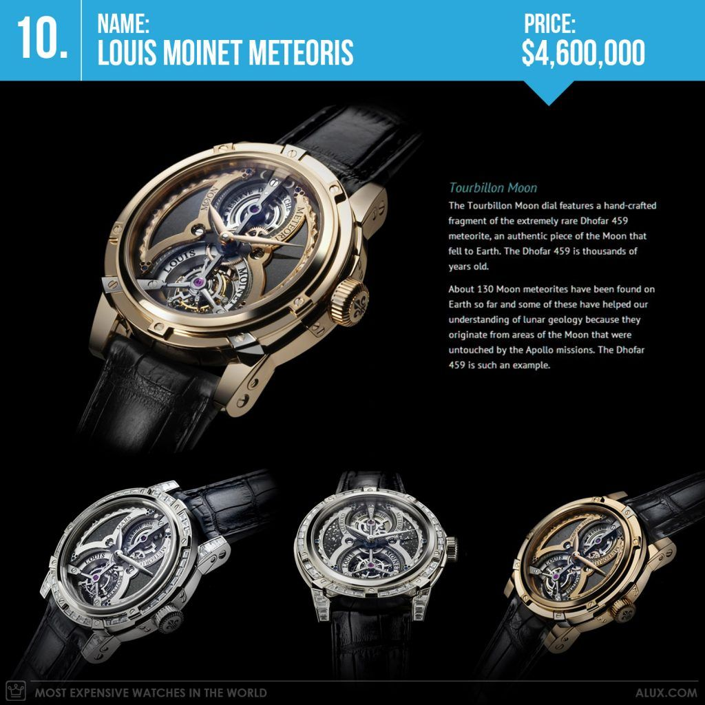 Most Expensive Watches In The World 2017 Louis Moinet Meteoris Price