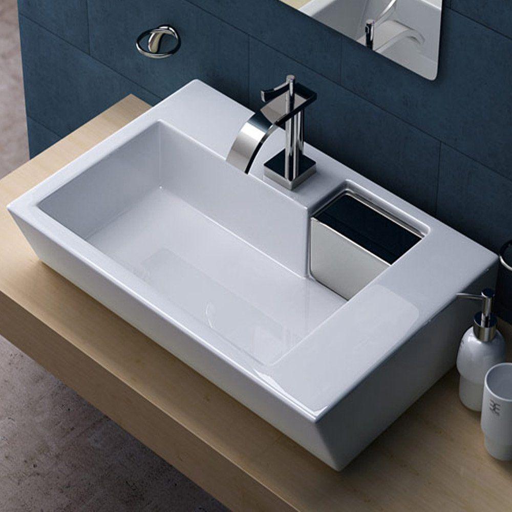 Lavabo vasque poser vier design bruxelles 819 amazon for Amazon lavabos