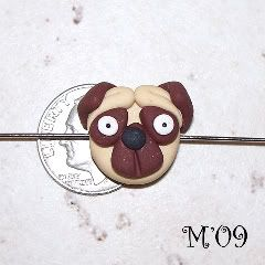 living with threemoonbabies: Polymer Clay Pug Tutorial (and giveaway!!!)