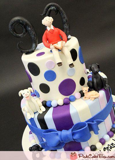 90th Birthday Cake Birthday Cakes 90 birthday Birthday cakes