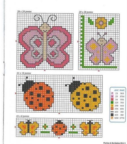 patrones de punto de cruz gratis para bebés - imagui | punto cruz